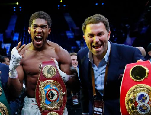 Anthony Joshua accepts Oleksandr Usyk fight order as world title mandatories pile up
