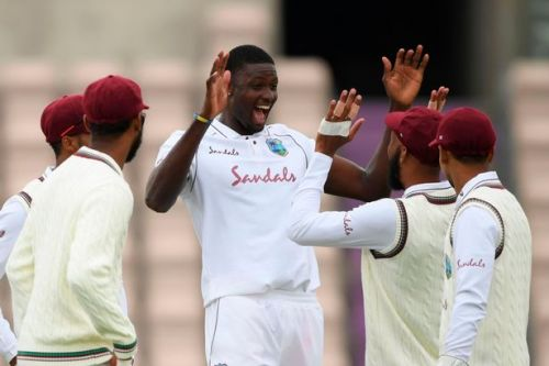 Jason Holder wins battle of skippers as West Indies take control against England