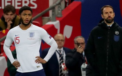 Gareth Southgate backs Joe Gomez to come back 'stronger' after training-ground injury forces him out of Kosovo match to end 'ludicrous week'