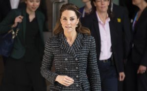 Kate Middleton was forced to remove her engagement ring during a recent outing