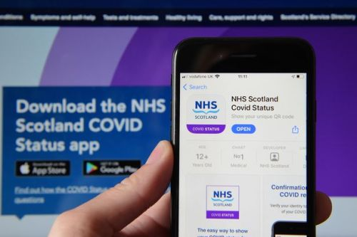 Vaccination passport app shares personal data of users with Amazon and Royal Mail