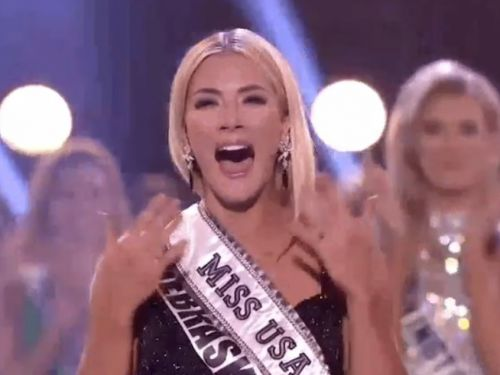We have a new Miss USA - watch her crowning moment here