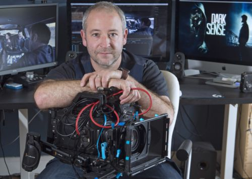 Director Magnus Wake brings his Edinburgh-set paranormal feature film Dark Sense to screens, while reflecting on the city's need to attract films like Fast And Furious