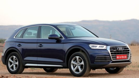 Checking out the new Audi Q5 2.0