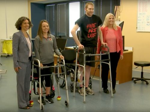 A revolutionary medical treatment has helped two paralyzed people walk again - here's why it's such a huge deal