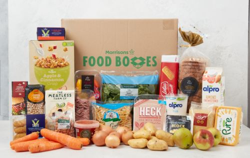 Morrisons launches vegan food box for £35