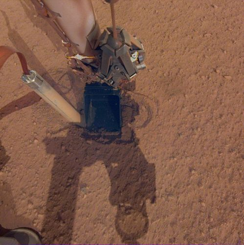 InSight lander will try robotic elbow grease to help stalled heat probe