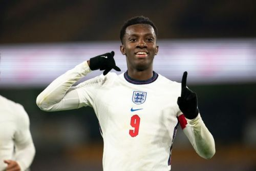 Eddie Nketiah becomes England U21s record scorer with 14th Young Lions strike