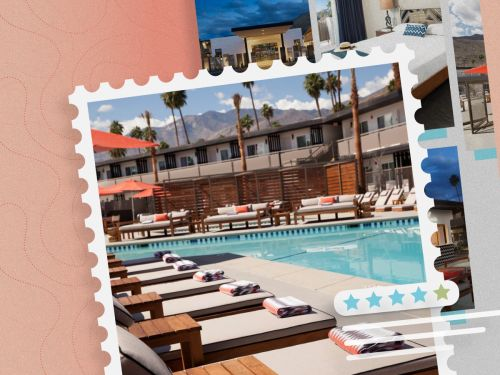 Hotel review: The V Palm Springs is a design-forward boutique hotel you can book for under $100 a night - even on a holiday