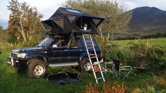 Staycation anywhere you want with a Tenbox rooftent