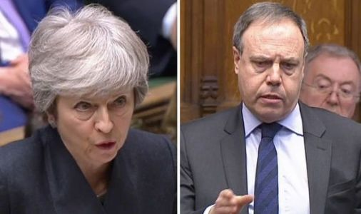 'EU backed DOWN!' DUP urge Theresa May to learn Brexit no deal 'lesson' in BRILLIANT rant