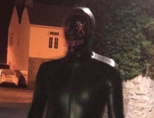 Police Hunt 'Grunting' Man In Gimp Suit Who Charged At Woman In Dark Village Street