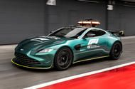 Aston Martin reveals uprated Vantage Formula 1 safety car