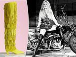 Designer Roger Vivier re-releases high boots that were worn by French sex-symbol Brigitte Bardot