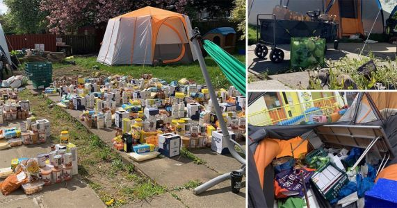 Food, children's toys and PPE stolen from community centre helping families