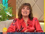 Lorraine Kelly forced to do a quick mid-show outfit change as her button pops off