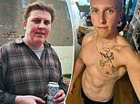 Twenty-stone vegan shows off transformation after losing nine stone