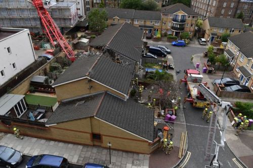 June Harvey, 85, Named As Person Killed When Crane Collapsed On Her House In Bow, East London