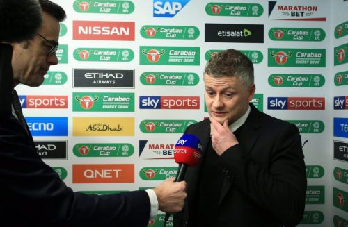 Ole Gunnar Solskjaer reacts to Bruno Fernandes deal