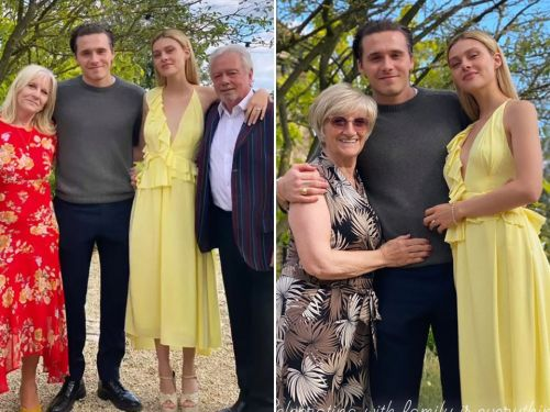 Victoria Beckham shares more pictures of Brooklyn Beckham and Nicola Peltz with her and David's parents to celebrate engagement