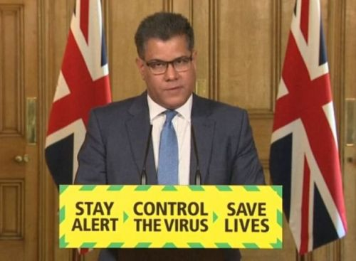 Boris Johnson And Rishi Sunak Could Have To Self-Isolate If Alok Sharma Tests Positive For Coronavirus, Says No.10