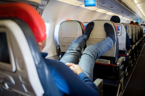 Passengers' most disgusting habits during a flight according to fellow travellers