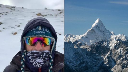 British climber didn't know world was on lockdown until getting to Everest base camp