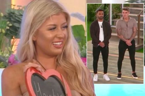Love Island's Jess slammed for mocking Nas before picking Luke - who is same height