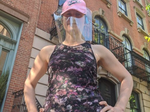 I spent a week wearing a face shield instead of a mask, and I'm never going back