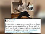 Madonna mocked over 'tribute' to George Floyd as she posts video of her son David Banda dancing