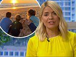 Holly Willoughby says she's 'riddled with guilt' about missing her children's early school days