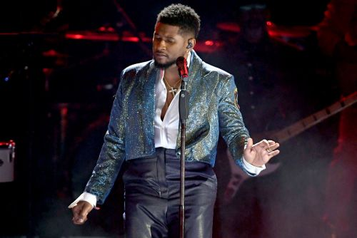 Usher's Prince tribute confuses Grammys viewers as FKA twigs is 'reduced to background pole dancer'