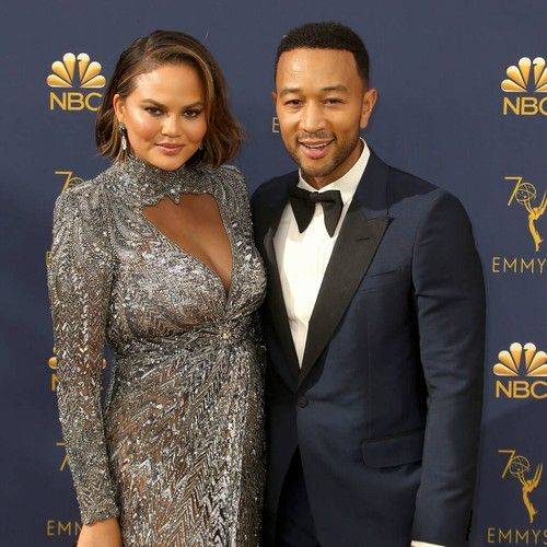 Chrissy Teigen scares John Legend as he guest hosts The Ellen DeGeneres Show