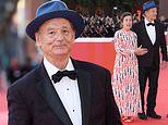 Bill Murray joins pal Frances McDormand on the red carpet at Rome Film Festival
