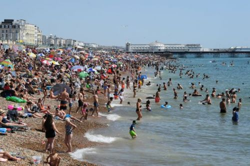 Brits Warned To Avoid Packed Beaches As Heatwave Prompts Rush To The Coast