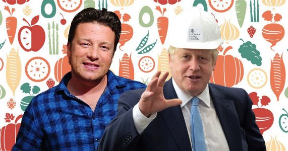 Jamie Oliver to lobby PM Boris Johnson over children's health and nutrition