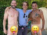 Gino D'Acampo and Fred Sirieix strip NAKED for cheeky snap