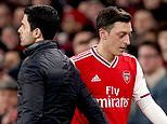 Mikel Arteta insists he gave Arsenal outcast Mesut Ozil 'as many opportunities as I could'