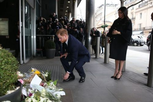 Meghan Markle and Prince Harry sign book of condolence to New Zealand victims