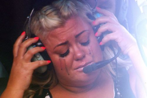 Gemma Collins braves helicopter flight years after I'm A Celeb meltdown
