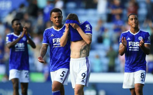 Leicester booed off pitch after draw with Burnley