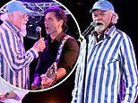 The Beach Boys'Mike Love rocks out with John Stamos duringConcerts In Your Car