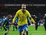 Zlatan Ibrahimovic 'set to make Sweden comeback for Euros'