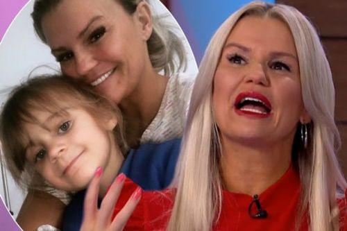 Kerry Katona reveals daughter Dylan-Jorge would 'spit in her face' to copy late dad George Kay