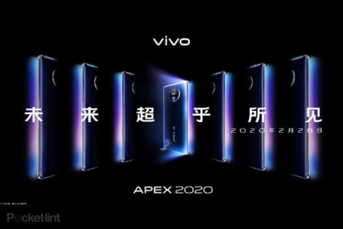 Vivo Apex 2020 concept phone to launch on 28 February, with 120-degree waterfall display