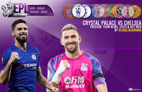 Crystal Palace vs Chelsea Match Preview | Team News, Stats & Key Men
