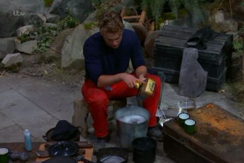 I'm A Celeb fans horrified over dirty food pans campmates have been eating from