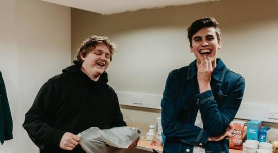 Lewis Capaldi celebrated Grammy nomination with boozy Belfast blowout
