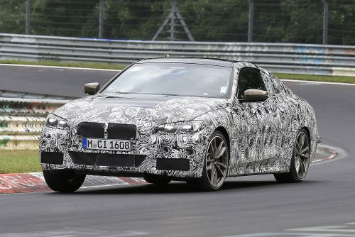 New 2020 BMW 4 Series spied at the Nurburgring