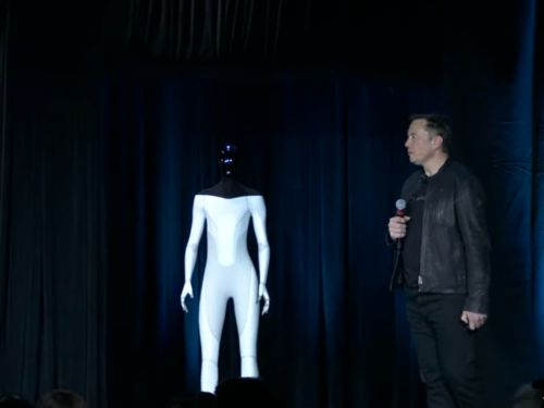 Elon Musk unveils 'Tesla bot,' a humanoid robot that would be made from Tesla's self-driving AI